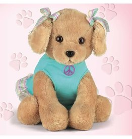 Bearington Collection Bearington Peace N Love Puppy