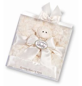 Bearington Collection Bearington Blanket & Rattle Set