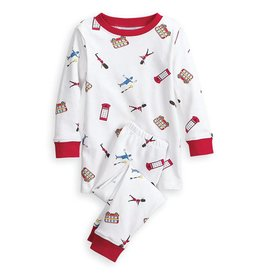Bella Bliss Bella Bliss Printed Pima Jammies 2pc