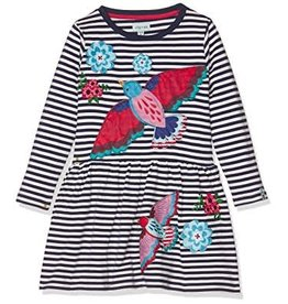 Lilly + Sid Lilly + Sid Stripe Jersey Dress