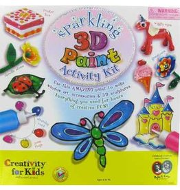 Faber-Castell Creativity for Kids Sparkling 3D Paint Activity Kit