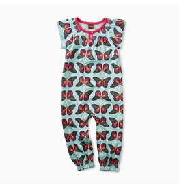 Tea Collection Tea Collection Bold Butterflies Smocked Romper