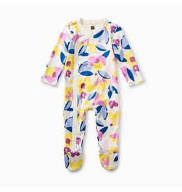 Tea Collection Tea Collection Footed L/S Romper