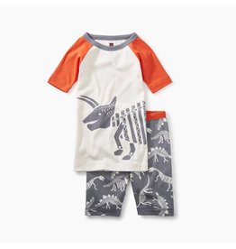 Tea Collection Tea Collection Dino Bones Raglan Pajamas