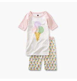 Tea Collection Tea Collection Tee & Shorts Pajamas