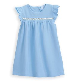 Bella Bliss Bella Bliss Pique Angel Sleeve Dress