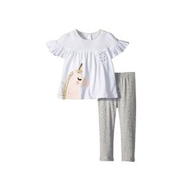Mud Pie Mud Pie Unicorn Tunic and Legging Set