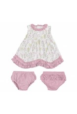Magnificent Baby Magnetic Me Modal Dress Set w/Diaper Cover