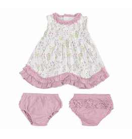 Magnificent Baby Magnetic Me Modal Dress Set w/ Diaper Cover