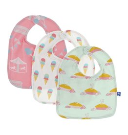 KicKee Pants KicKee Pants Bib Set 3pc