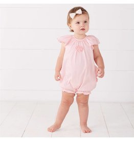 Mud Pie Mud Pie Faille Ruffle Bubble Romper