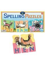 Eeboo Eeboo Animal Puzzles