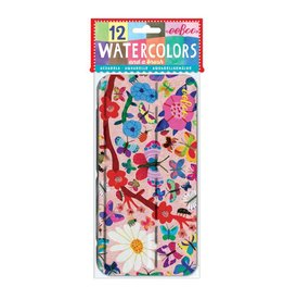 Eeboo Eeboo 12 Vibrant Watercolors