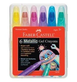 Faber-Castell Faber-Castell Metallic Gel Crayons
