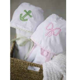 Little English Little English Applique Hooded Towel