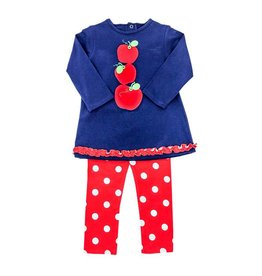 Bailey Boys Bailey Boys Knit Apples Tunic Pant Set