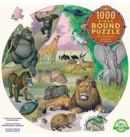 Eeboo Eeboo Round Puzzle 1000 Pc
