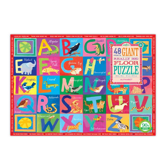 Eeboo Eeboo Giant Floor Puzzle 48 pc