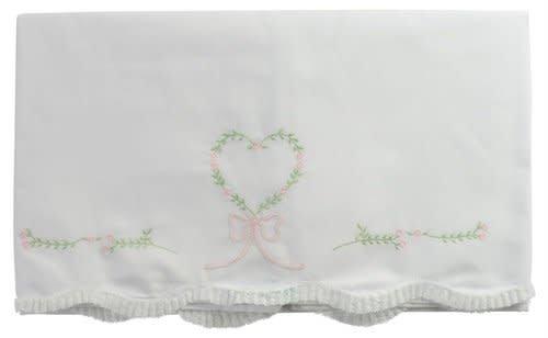 Feltman Brothers Feltman Brothers Floral Heart Receiving Blanket #2303