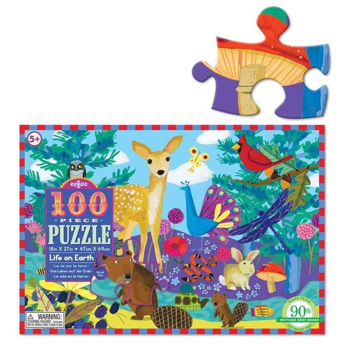 Eeboo Eeboo Puzzle 100 Pc