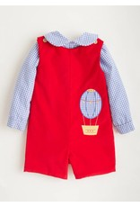 Little English Little English Applique John John Set