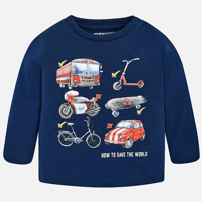 Mayoral Mayoral L/S Automobile Shirt