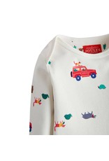 Joules Joules Baby Snazzy Printed Babygrow
