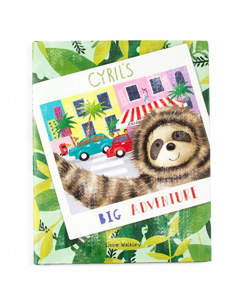 Jellycat JellyCat Cyril's Big Adventure Book