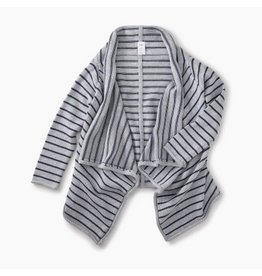 Tea Collection Tea Collection Striped Drapey Cardigan