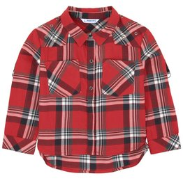 Mayoral Mayoral Plaid Blouse