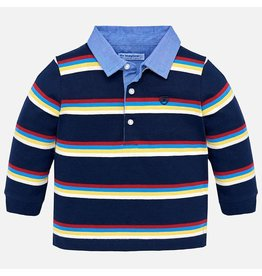 Mayoral Mayoral L/S Stripes Polo
