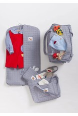 Little English Little English Dog Quilted Luggage 4pc Set