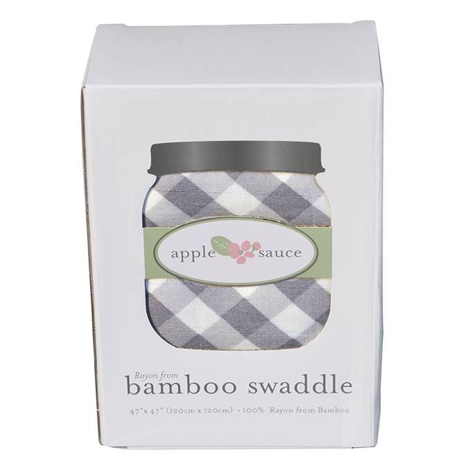 Apple Sauce Apple Sauce Bamboo Gingham Swaddle