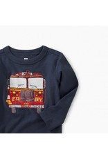 Tea Collection Tea Collection Fire Truck Graphic Tee
