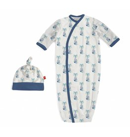 Magnificent Baby Magnetic Me Modal Cool as Fox Sack Gown Set