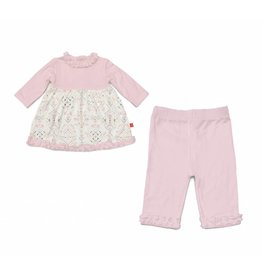 Magnificent Baby Magnetic Me Boho Bebe Modal Dress Set