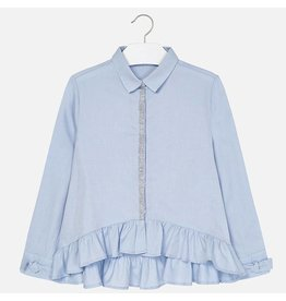Mayoral Mayoral Oxford Blouse