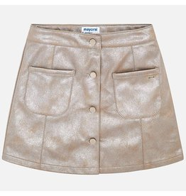Mayoral Mayoral Leatherette Skirt