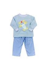 Bailey Boys Bailey Boys Airplane Pant Set - Toddler