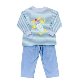 Bailey Boys Bailey Boys Airplane Pant Set - Toddler
