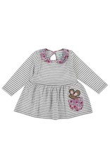 Lilly + Sid Lilly + Sid Vintage Collar Stripe Dress