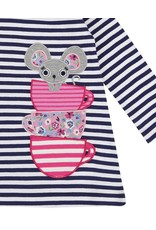 Lilly + Sid Lilly + Sid Mouse Applique Dress Set