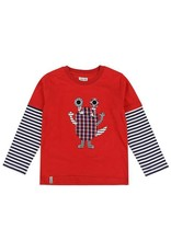Lilly + Sid Lilly + Sid Monster Applique Top