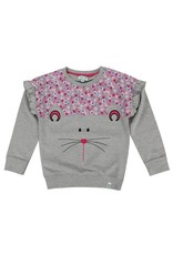 Lilly + Sid Lilly + Sid Bunny Face Sweatshirt
