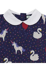 Lilly + Sid Lilly + Sid Party Things Collar Dress