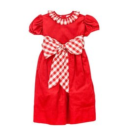 Bailey Boys Bailey Boys Red Cord Empire Dress