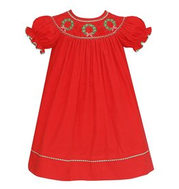Anavini Anavini Bishop SS Wreaths Dress