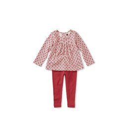 Tea Collection Tea Collection Pleated Top Baby Set