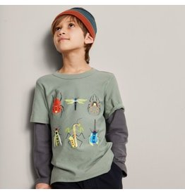 Tea Collection Tea Collection Tune Bugs Layered Graphic Tee