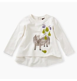 Tea Collection Tea Collections Pears and Pony Graphic Tee